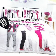 One Direction 1D (pink) - Single/Twin Bed Quilt Doona Duvet Cover Set