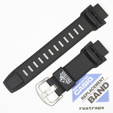 CASIO black rubber watch band for PRW-5100, PRW-2500, PRG-510, PRG-250, 10390035