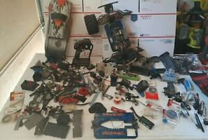 LOT of  RC  Car  Truck   assorted remote control Parts  Traxxas