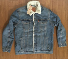 Levi's Sherpa Denim Jacket NEW Size: XL