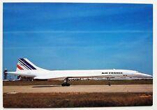 Air France Concorde Postcard