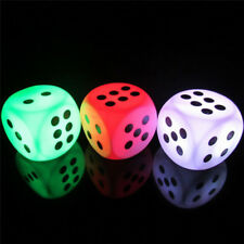 Lovely Battery Powered Dice LED Night Light Home Bedroom Lamp Party Decorations
