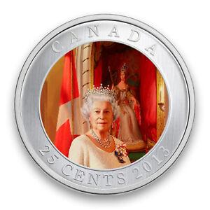 Coronation of Queen Elizabeth II - 60th Anniversary - 2013 Canada 25c Coin - RCM