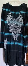 NEW VOCAL BLING knit TUNIC shirt SEXY vintage cowgirl SM
