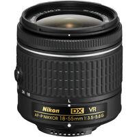 Nikon 18-55 mm f/3.5-5.6G VR AF-P DX Nikkor Lens for Nikon DSLR Cameras
