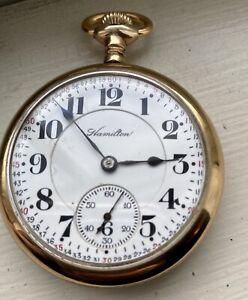 16S Hamilton 992 GF case  -  Montgomery Dial