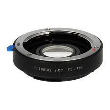 Fotodiox Objektivadapter Pro Linse Fujifilm X Linse für Canon EOS EF/EF-S Kamera