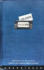 Audio book - Oracle Night by Paul Auster   -   Cass