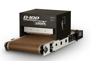 "Vastex D-100 18"" Belt by 4' length Table Top Conveyor Dryer for Screen Printing"