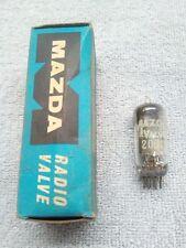 MAZDA 20D1 valvola/tube. NUOVO Vecchio Stock. spedizione Gratuita in UK.