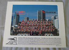 Original CFL Montreal Alouettes 2001 Official Team Photo