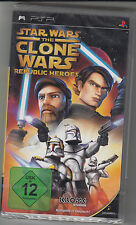 Star Wars: The Clone Wars - Republic Heroes (Sony PSP, 2009)