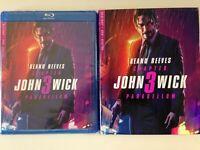 John Wick Chapter 3 Parabellum Blu-ray Movie (NEW) Keanu Reeves
