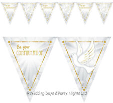 Confirmation Boy And Girl Giant Party Banners 9ft 2.7m New Sealed Banner
