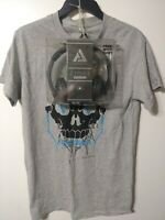 T Shirt Small &  Free Audio Council Stereo Headphones   Free Shipping
