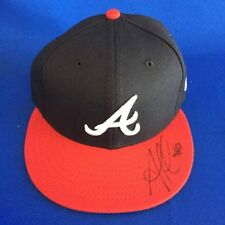 Ozzie Albies Atlanta Braves Signed 59fifty Hat - Size 6 7/8