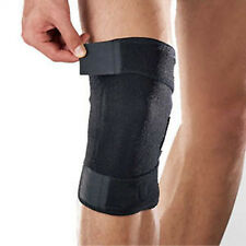 Grande Negro ayuda de la rodilla Neopreno El Protector De Rodilla Brace Vendaje Tendon Ajustable Sport