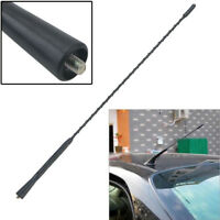 "1x Black Car Roof For Fender Radio FM AM Signal Antenna Aerial Extend 16"" BA"