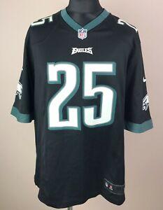LeSean McCoy #25 Philadelphia Eagles NIKE Football NFL Jersey Men's Size XL
