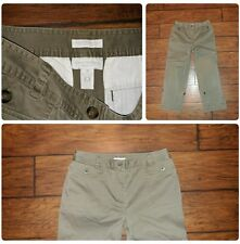 Charter Club Katherine Fit cargo pocket casual cropped pants size 8P petite