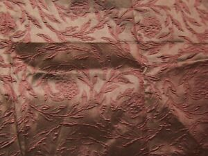 Kravet Couture, Grace Floral Weave, Floral Brocade, By The Piece, Color Ruby Red