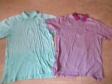 Lot, 2 mens size medium Peter Millar golf shirts