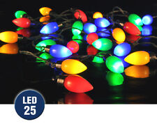 Nd bunte LED Partylichterkette Festbeleuchtung 25 Birne Hi50016nd