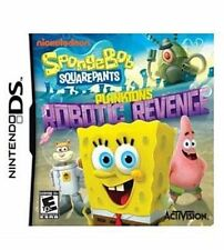 NEW SEALED SPONGEBOB SQUAREPANTS: PLANKTON'S ROBOTIC REVENGE NINTENDO DS GAME