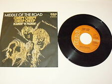 """MIDDLE OF THE ROAD """"CHIRPY CHIRPY CHEEP CHEEP"""" disco 45giri RCA Ger 1971"""