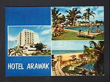POINTE-A-PITRE (GUADELOUPE) PISCINE animée à l' HOTEL ARAWAK