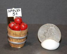Dollhouse Miniature Bucket of Red Apples 1:12 One Inch scale H126 Dollys Gallery