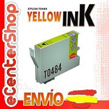 Cartucho Tinta Amarilla / Amarillo T0484 NON-OEM Epson Stylus Photo RX640