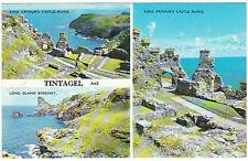 unused Postcard Cornwall, Tintagel a4e