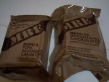 MRE Fishing Hunting Hiking Emergency Military Ration Survival #4 & #15