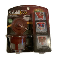 Reuseable K-Cup Use Your Own Coffee for Keurig Solofill Cup BPA Free New