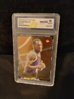 1996-1997 Kobe Bryant Collector's Edge Rookie Card Graded GEM MINT 10 Misprint