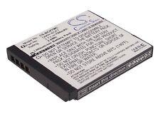 3.7 V Batterie pour Panasonic Lumix dmc-fp7p, Lumix DMC-S1A, Lumix DMC-FX90K Li-Ion