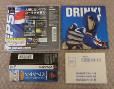 Japanese Game PS1 Playstation Pepsi Man Kid Near Mint for Collector !!