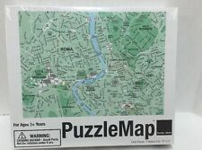 "Design Ideas Puzzle Map, Rome Roma 1000 pieces Puzzlemap New 19x27"""