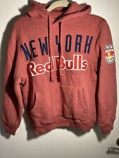 MITCHEL & NESS NEW YORK RED BULLS  HOODY SIZE MEDIUM Cotton Embroidered