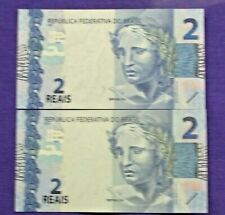 BRAZIL CURRENCY 4 REALS UNC