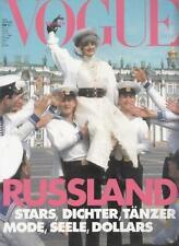 Vogue Naomi Campbell,Claudia Schiffer,Eva Herzogiva,Tatjana Patitz,Carla Bruni