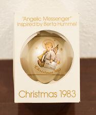 1983 BERTA HUMMEL ANGELIC MESSENGER SCHMID CHRISTMAS ORNAMENT MIB