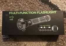 Npet T10 Black Multi Function Flashlight Car Emergency Tool Camping - New/Open