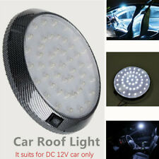 12V 46 LED Roof Lamp Car Vehicle Interior Dome Lights Round Indoor Ceiling White