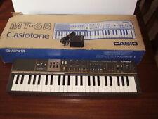 Vintage Casio Casiotone Mt-68 Synthesizer Electronic Keyboard