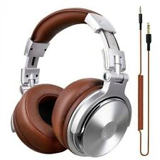 DJ Headset Studio Headphone Professional Over the Ear With Microphone Headsets