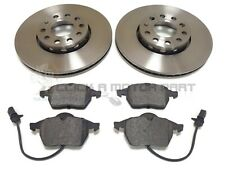 AUDI A 6 A6 1997-2004 SALOON & AVANT MODELS FRONT 2 BRAKE DISCS AND PADS SET NEW