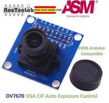 OV7670 Camera Module 640X480 Supports VGA CIF Auto Exposure Control Display
