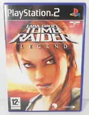 jeu LARA CROFT TOMB RAIDER LEGEND pour playstation 2 sony PS2 francais eidos